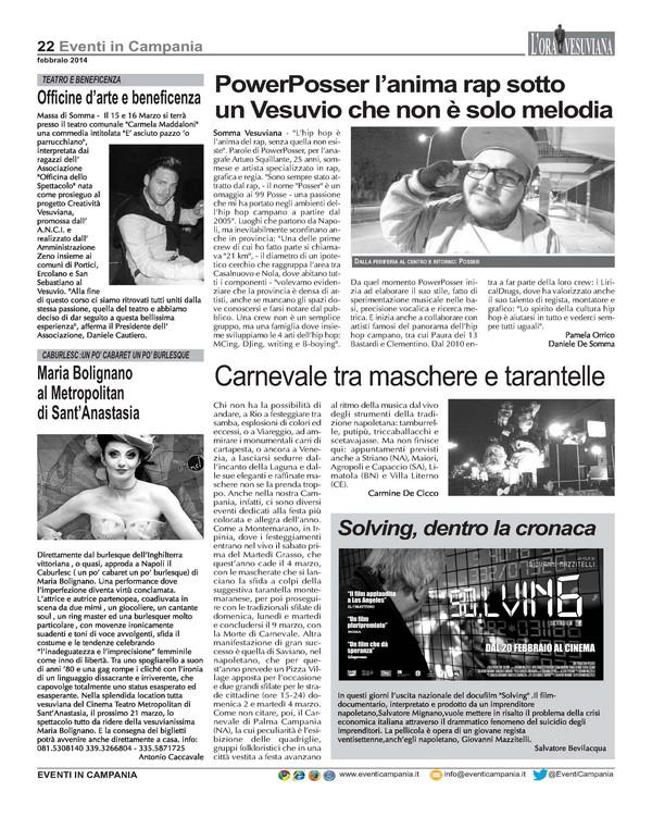 Ora Vesuviana - Febbraio 2014_Pagina_22