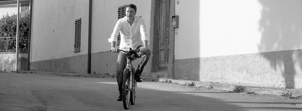 Fonte foto: pagina Facebook di Matteo Renzi